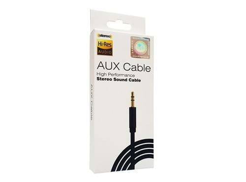Needion - AUX Ses Kablosu 3,5mm – Mikrofonlu