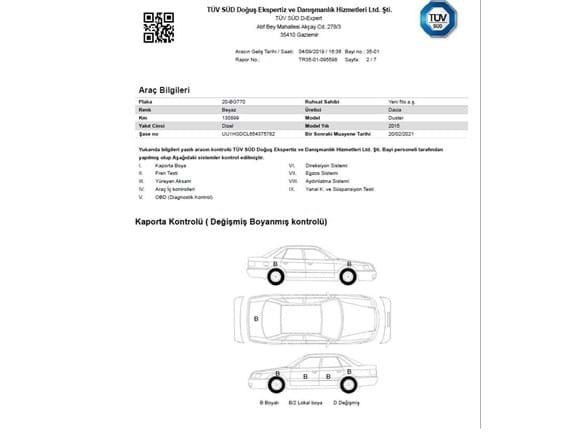 Needion - Dacia Duster Ambiance 1.5 Dizel 2015