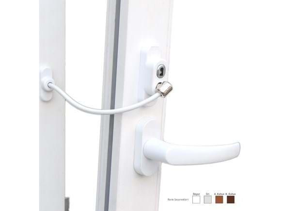 Needion - Anahtarlı Halatlı Pvc Kapı Pencere Emniyet Kilidi