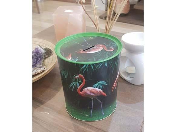 Needion - Kumbara - Flamingo Tasarımlı Büyük Boy