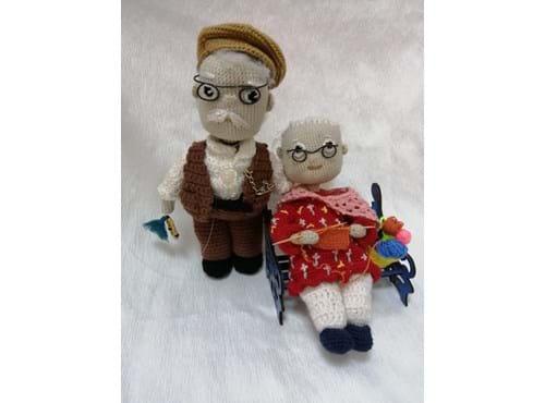 Needion - Amigurumi Yaşlı Çift